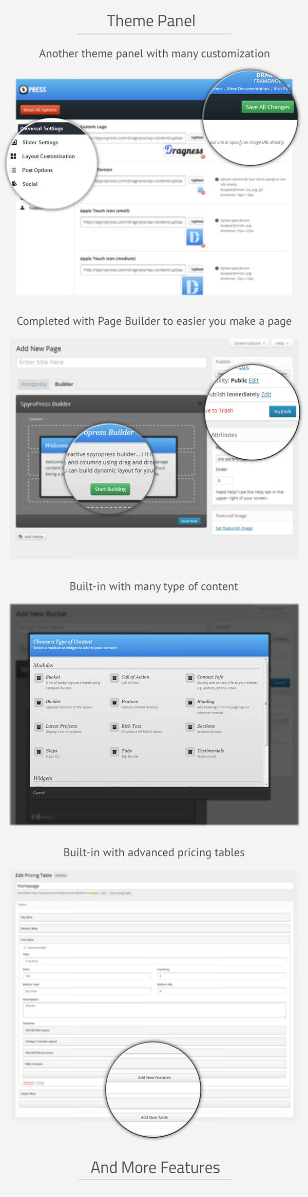 Attraction Responsive WordPress Landing Page - 10