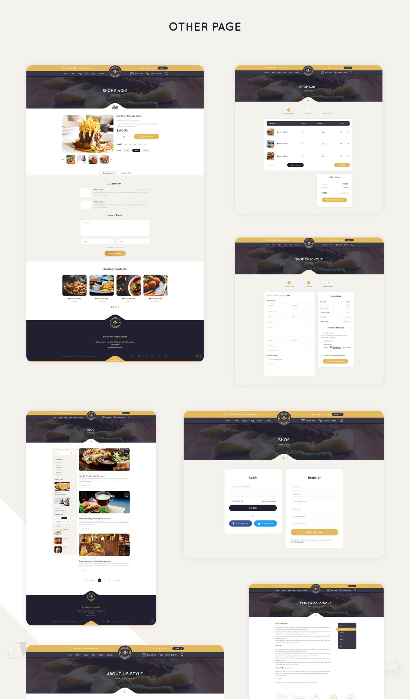 La Boom - Food & Restaurant Bistro WordPress Theme