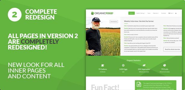 Organic Food - Farm & Food Business Eco WordPress Theme - 14