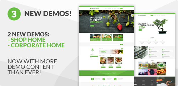 Organic Food - Farm & Food Business Eco WordPress Theme - 15