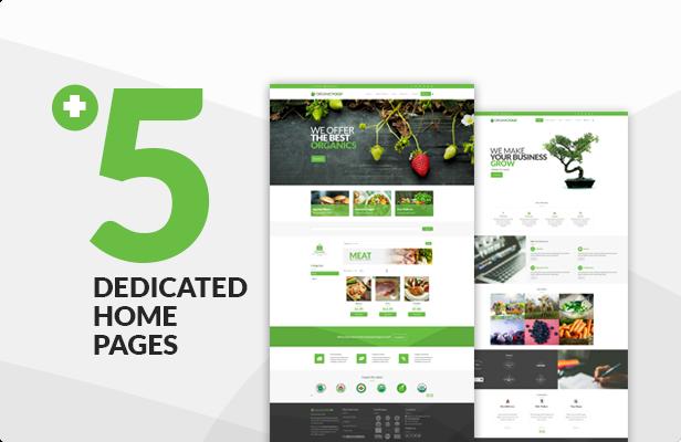 Organic Food - Farm & Food Business Eco WordPress Theme - 16