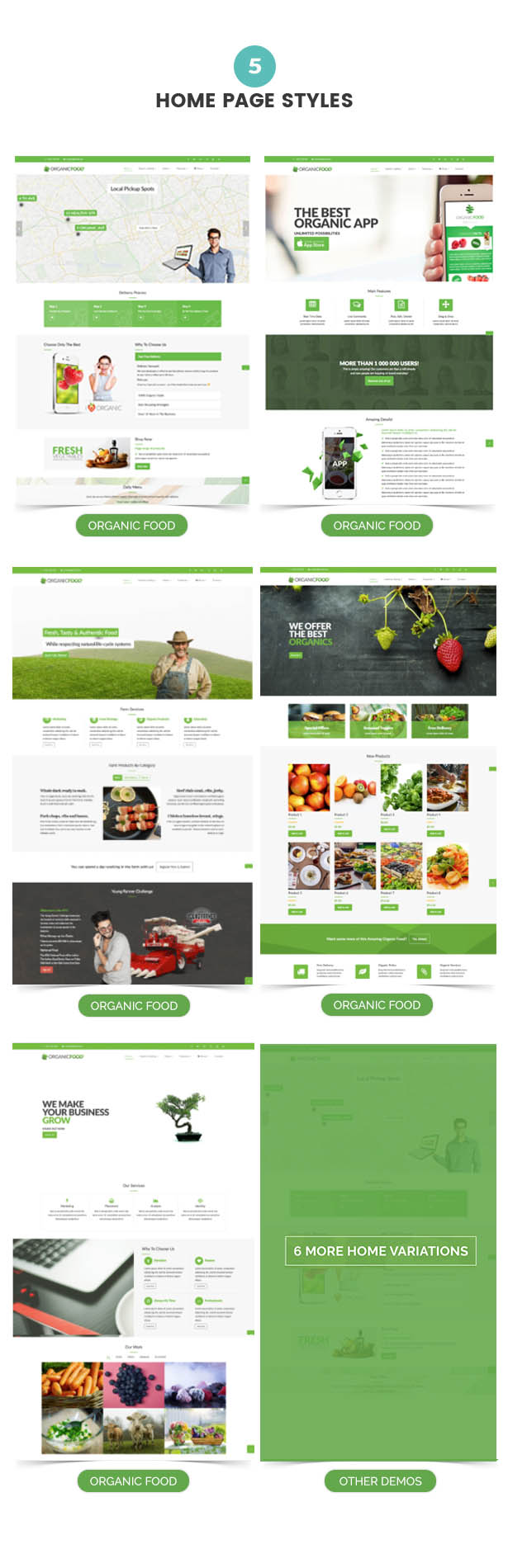 Organic Food - Farm & Food Business Eco WordPress Theme - 17