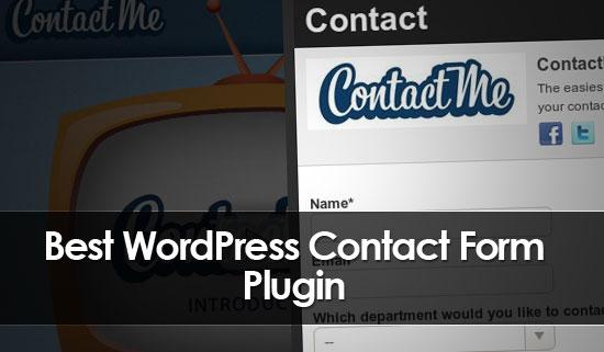 Best Free WordPress Contact Form Plugins - Best WordPress Theme 2017