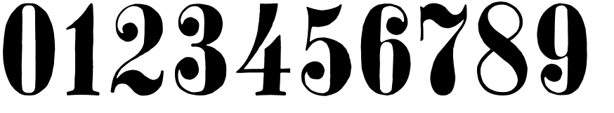 26 Free Number Fonts To Download